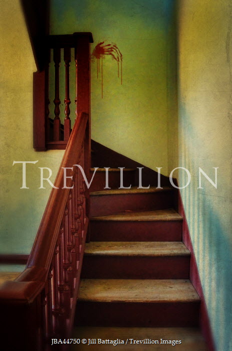 Trevillion Images Jill Battaglia STAIRCASE WITH BLOODY
