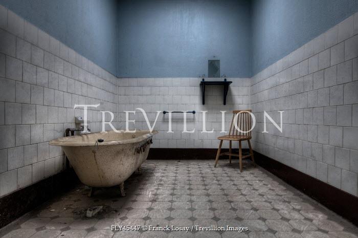 Franck Losay BLEAK DERELICT BATHROOM Interiors/Rooms