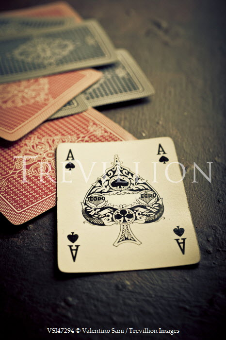 Valentino Sani ACE OF SPADES AND PLAYING CARDS Miscellaneous Objects