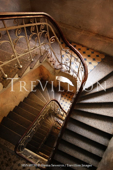 Hanna Seweryn OLD ORNATE STAIRCASE Stairs/Steps