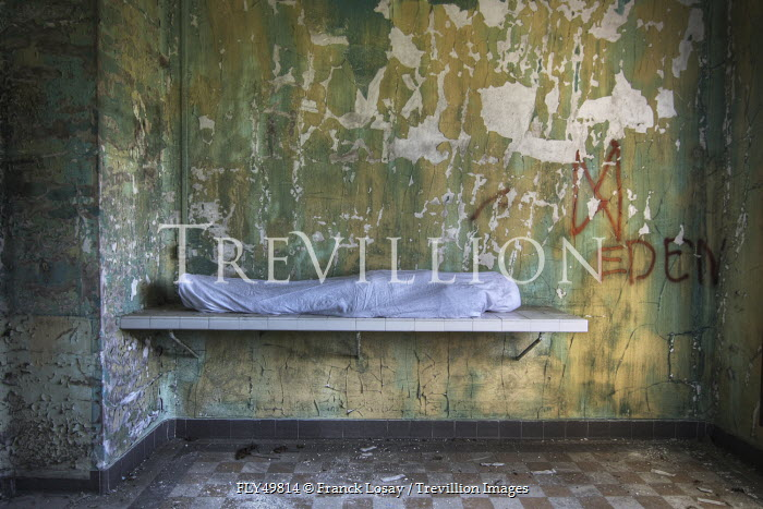 Franck Losay WRAPPED BODY IN DERELICT ROOM Miscellaneous Objects