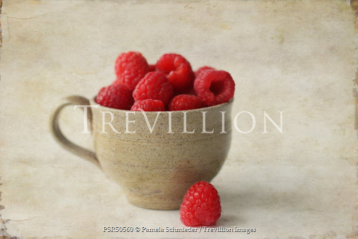 Pamela Schmieder RASPBERRIES IN CUP Miscellaneous Objects