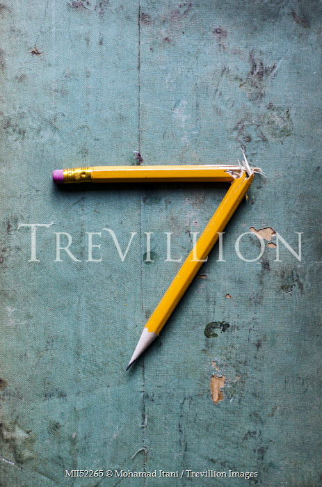 Mohamad Itani BROKEN YELLOW PENCIL Miscellaneous Objects