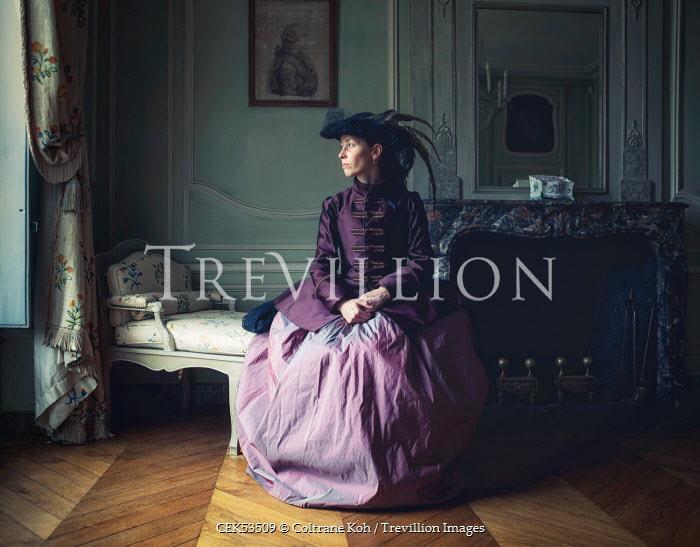 Coltrane Koh HISTORICAL WOMAN IN GRAND ROOM Women