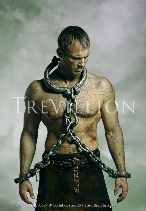 Image result for spartacus in chains