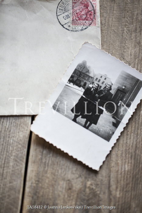 Joanna Jankowska OLD ENVELOPE WITH PHOTOGRAPH Miscellaneous Objects