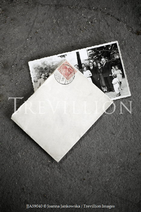Joanna Jankowska ENVELOP AND OLD PHOTOGRAPH Miscellaneous Objects