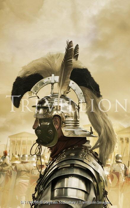 Stephen Mulcahey PROFILE VIEW OF A ROMAN GENERAL Men