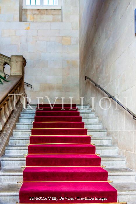Elly De Vries CARPETED HALLWAY STAIRS INDOORS Stairs/Steps