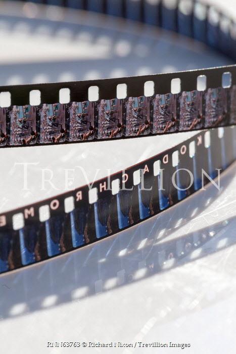 Richard Nixon CLOSE UP OF CAMERA FILM NEGATIVES Miscellaneous Objects