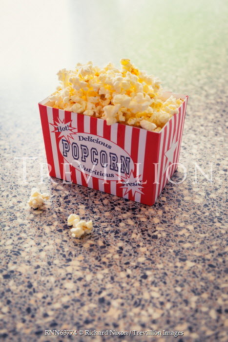 Richard Nixon BOX OF POPCORN ON TABLE INDOORS Miscellaneous Objects