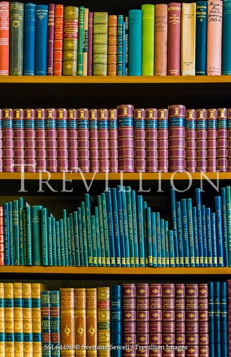 Svetlana Sewell BOOKS ON BOOKSHELF INDOORS Miscellaneous Objects