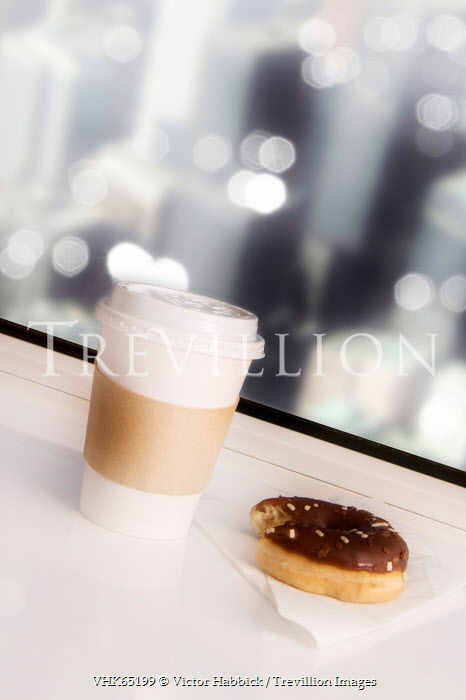 Victor Habbick COFFEE CUP AND DOUGHNUT Miscellaneous Objects