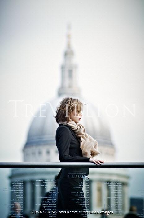Chris Reeve SMART WOMAN NEAR LONDON LANDMARK Women