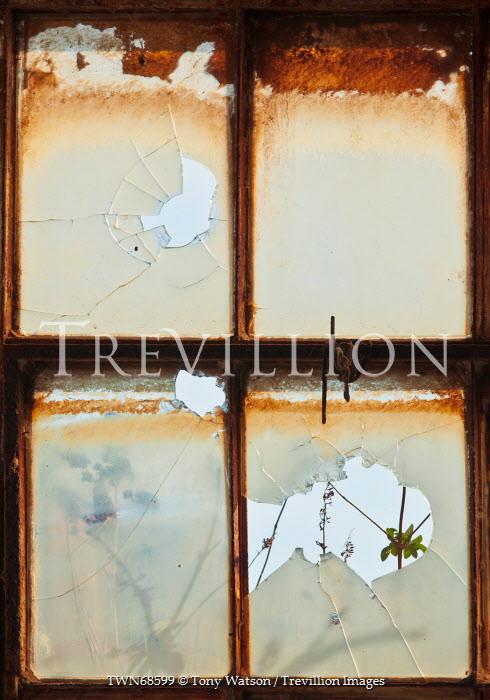 Tony Watson DERELICT WINDOW Interiors/Rooms