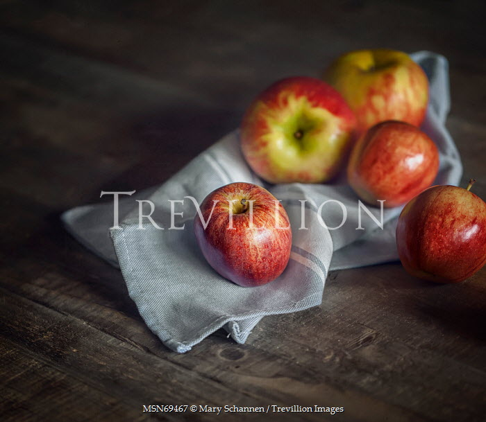 Mary Schannen PILE OF RED APPLES INDOORS Miscellaneous Objects