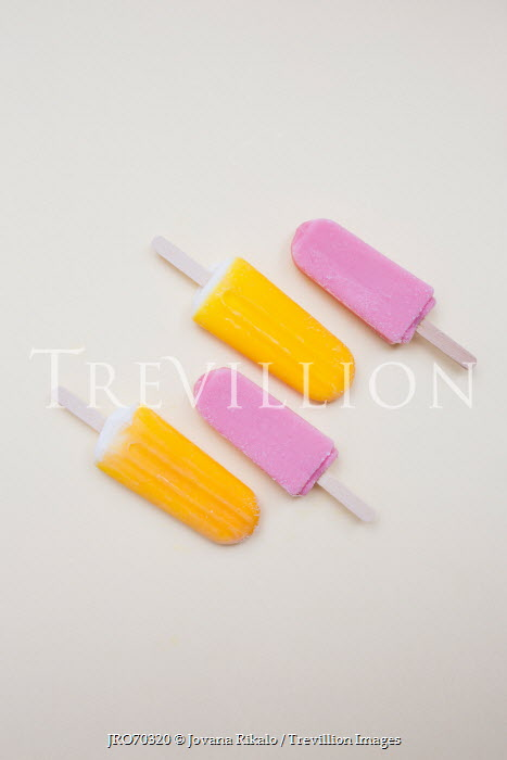 Jovana Rikalo FOUR YELLOW AND PINK ICE LOLLIES Miscellaneous Objects