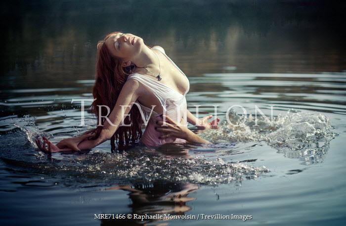 Raphaelle Monvoisin HANDS PULLING WOMAN INTO LAKE Women