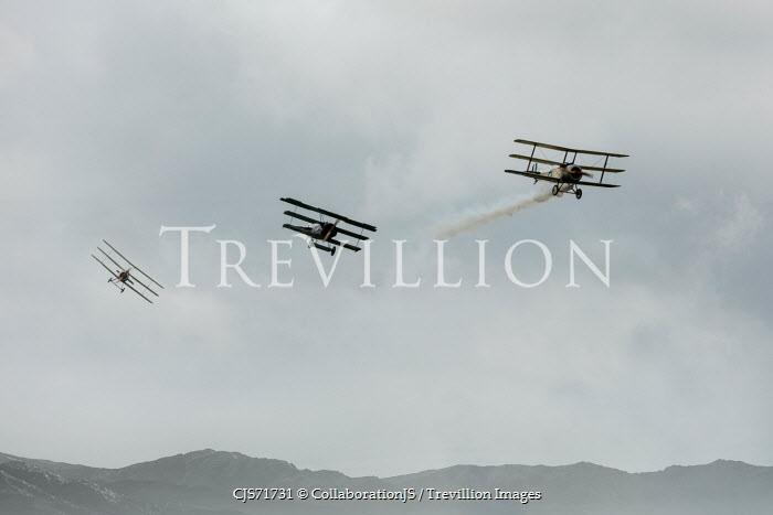 CollaborationJS THREE WORLD WAR ONE AEROPLANES Miscellaneous Transport