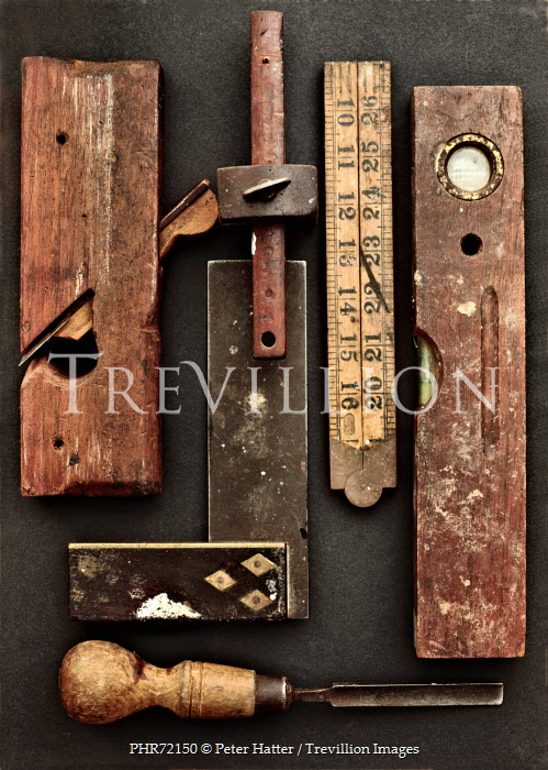Peter Hatter ASSORTED OLD WOODWORK TOOLS Miscellaneous Objects