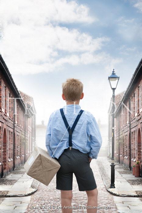 Lee Avison 1940S LITTLE BOY ON TERRACE STREET Children