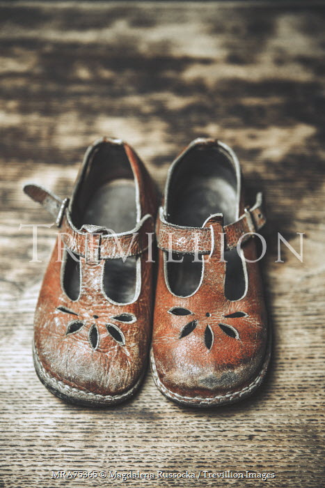 Magdalena Russocka LITTLE GIRLS WORN VINTAGE SHOES Miscellaneous Objects