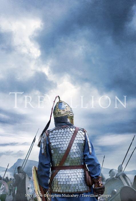 Stephen Mulcahey ancient roman empire warriors Men
