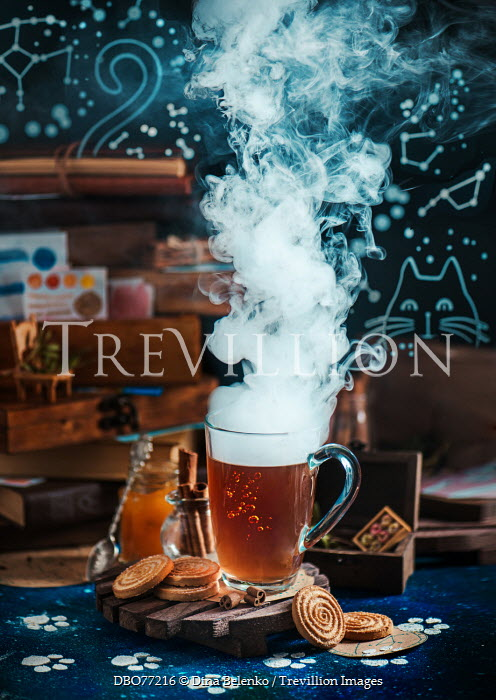Dina Belenko SMOKY HOT DRINK AND COOKIES Miscellaneous Objects