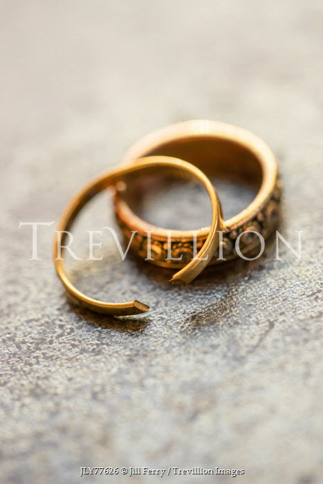 Jill Ferry BROKEN GOLD WEDDING RINGS Miscellaneous Objects