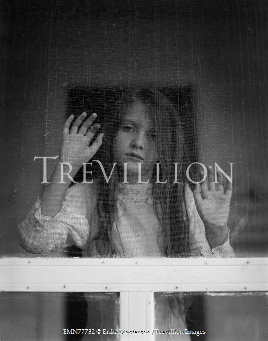 Erika Masterson YOUNG VINTAGE GIRL BEHIND SCREEN DOOR Children  sc 1 st  Trevillion Images & Trevillion Images - The Ultimate Creative Stock Photography Erika ...