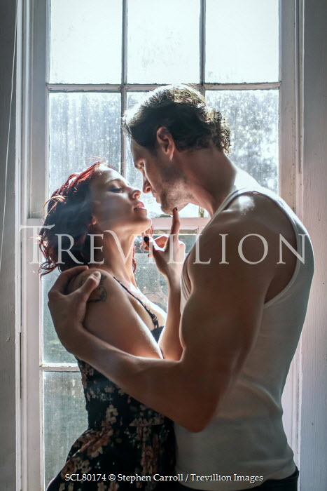 Stephen Carroll INTIMATE MODERN COUPLE BY WINDOW Couples