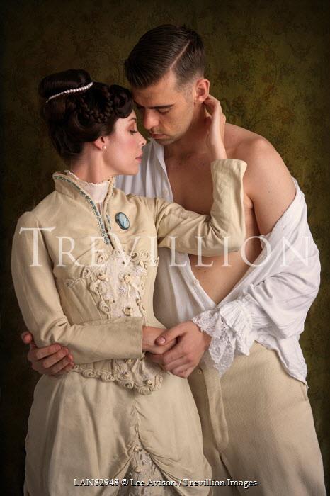 Lee Avison young romantic victorian couple Couples