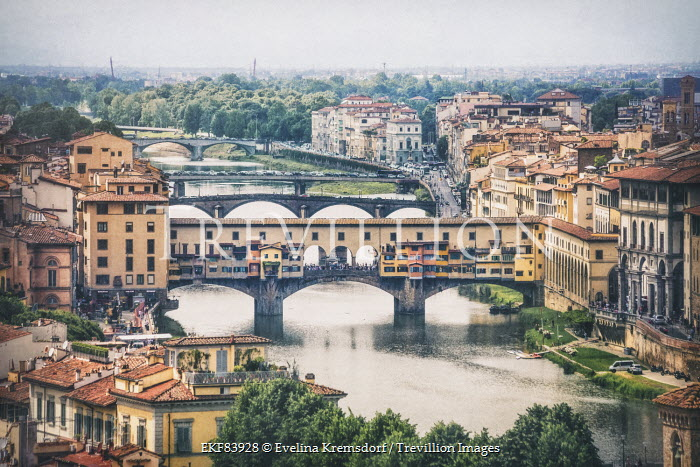 Evelina Kremsdorf Florence, Italy houses and river Specific Cities/Towns