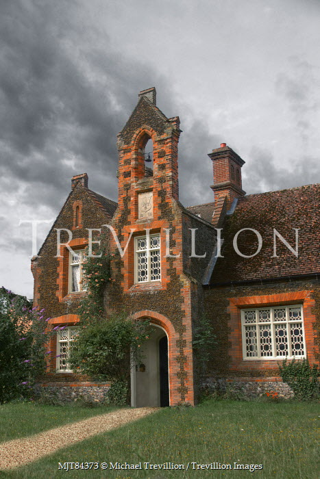 Michael Trevillion RED BRICK COUNTRY SCHOOL HOUSE Houses