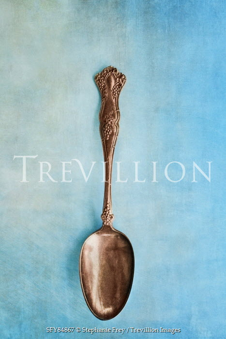 Stephanie Frey ORNATE ANTIQUE SPOON Miscellaneous Objects