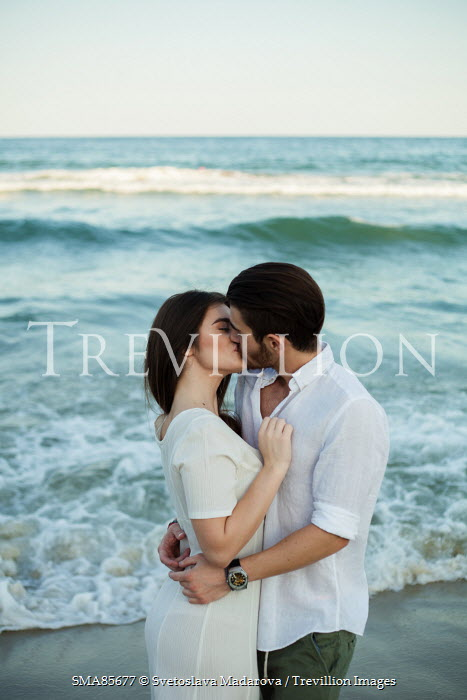 Svetoslava Madarova INTIMATE COUPLE KISSING ON BEACH Couples