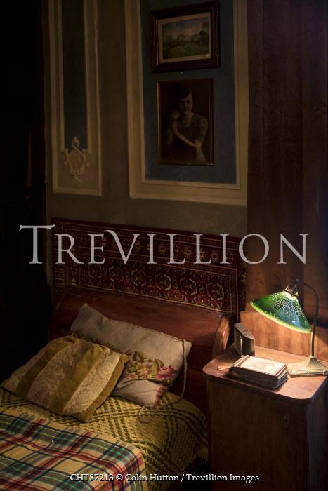 Colin Hutton SHADOWY VINTAGE BEDROOM Interiors/Rooms