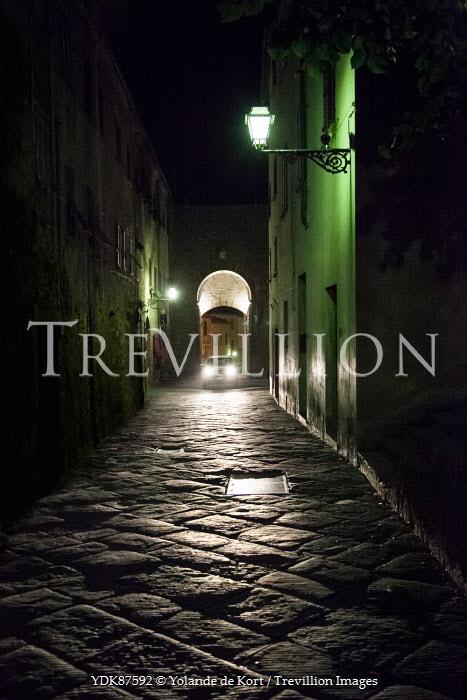 Yolande de Kort HISTORICAL ALLEYWAY AT NIGHT Streets/Alleys