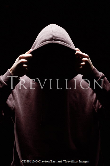 Clayton Bastiani YOUNG MALE IN HOODIE IN SHADOW Children
