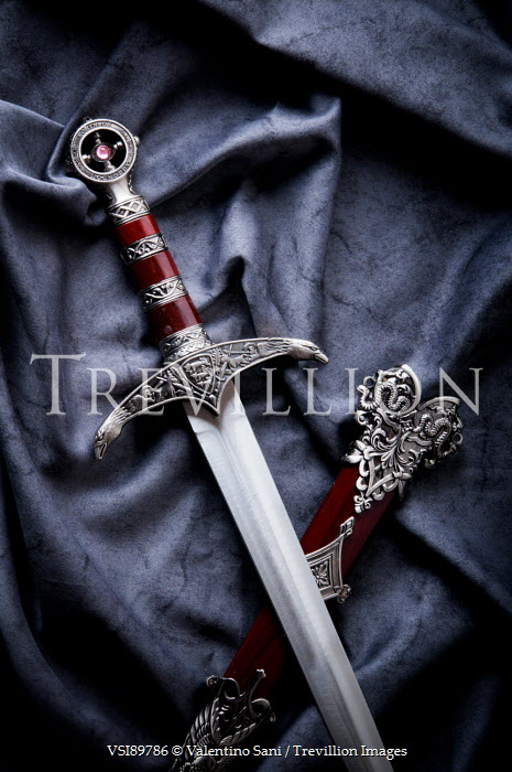 Valentino Sani DECORATIVE SWORD WITH SHEATH Weapons