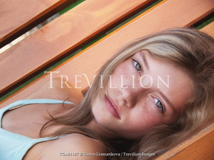 Tanya Gramatikova SERIOUS YOUNG GIRL Women