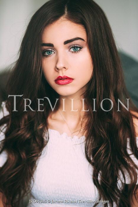 Jovana Rikalo BEAUTIFUL YOUNG BRUNETTE WOMAN Women