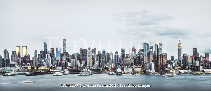 Evelina Kremsdorf CITYSCAPE OF NEW YORK Miscellaneous Buildings