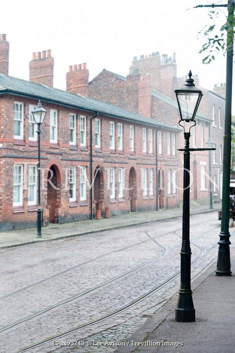 Lee Avison victorian street of terraced houses Houses
