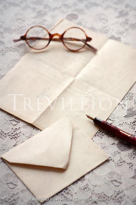 Lee Avison vintage letter writing Miscellaneous Objects