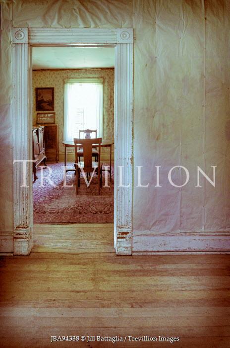 Jill Battaglia DINING ROOM OF OLD HOUSE Interiors/Rooms