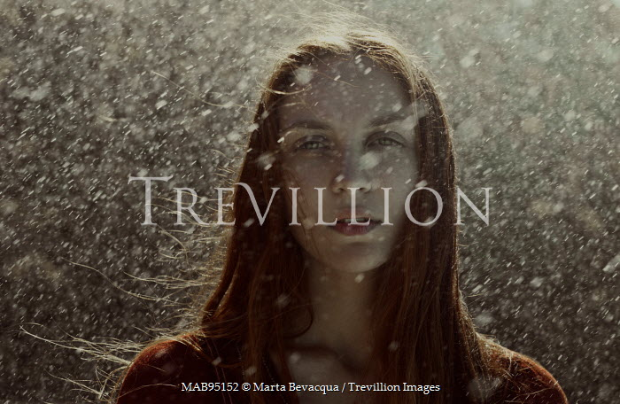 Marta Bevacqua GIRL WITH RED HAIR IN RAIN Women