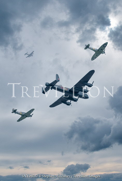 Stephen Mulcahey world war two planes flying over London Miscellaneous Transport