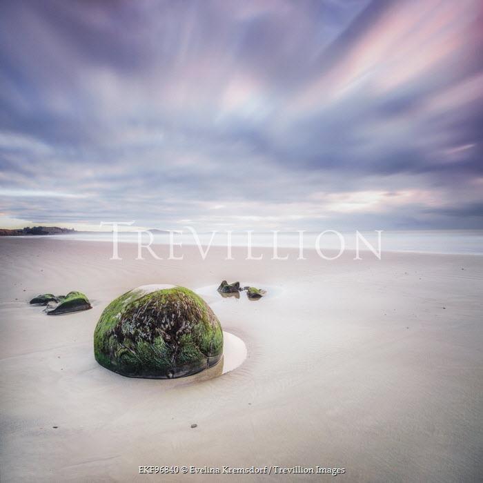 Evelina Kremsdorf STONES ON EMPTY SANDY BEACH Seascapes/Beaches
