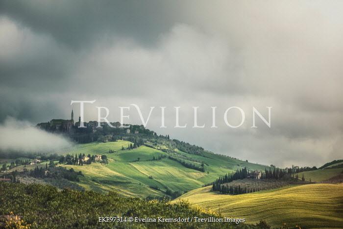 Evelina Kremsdorf HISTORIC ITALIAN HILL TOWN Fields